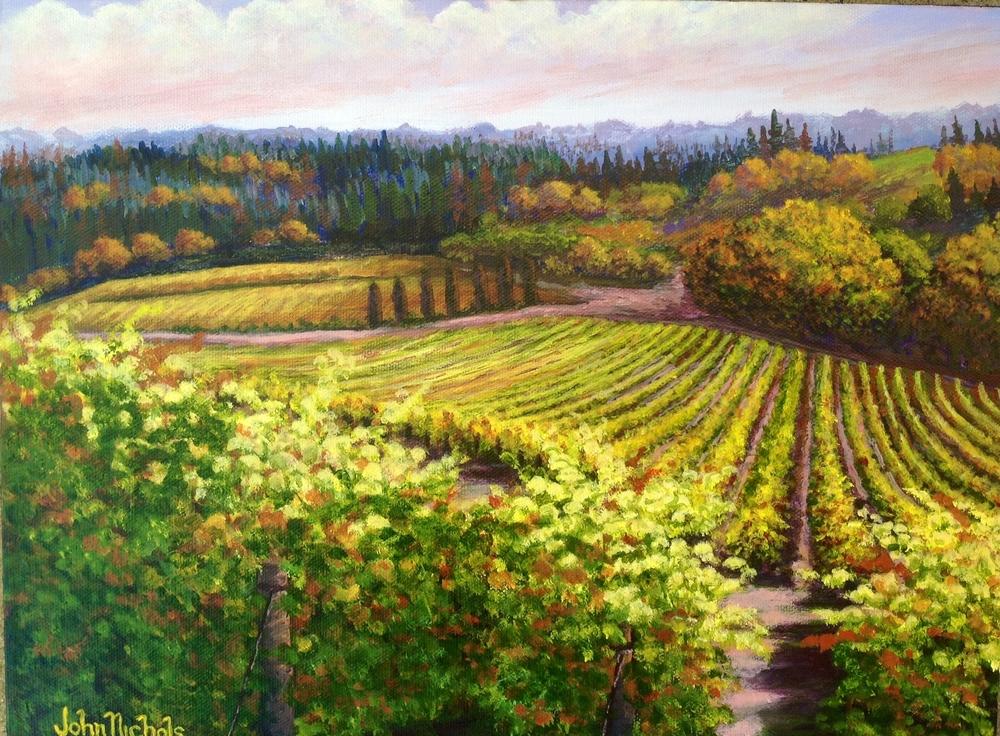 """Oregon Vineyard"""