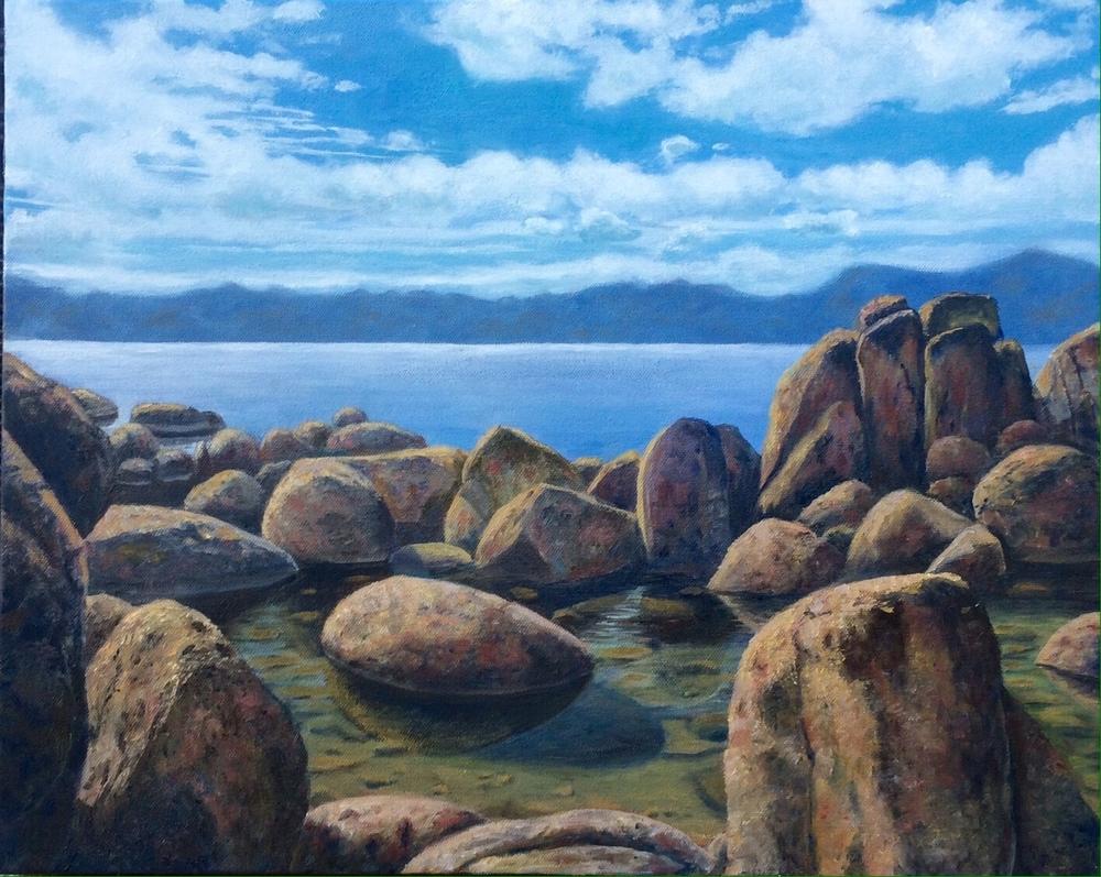 """Tahoe on the Rocks"""