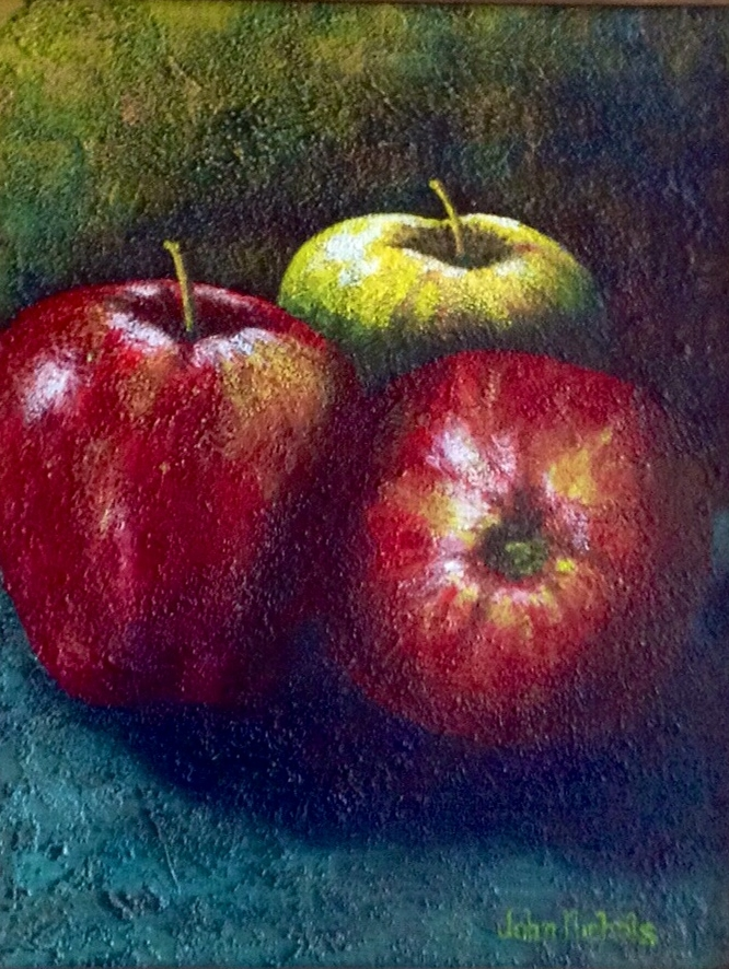 """Three Apples"""