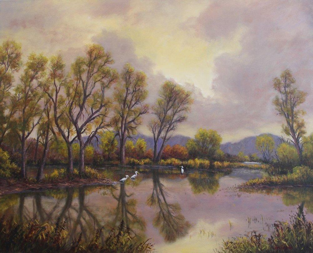 """""""View at Gray Lodge"""""""