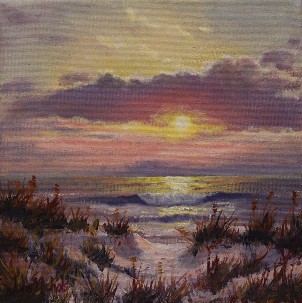 """Sand Dunes Sunset"""