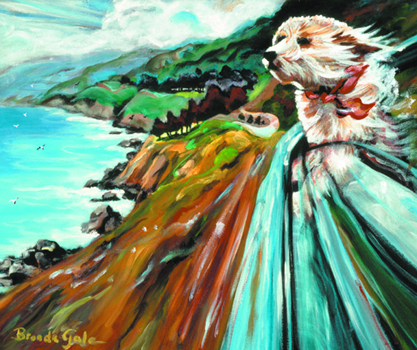 CRUISING BIG SUR Giclee on Canvas 16x20 ready to frame  $275.jpg