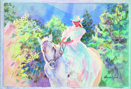 Appaloosa and Bride