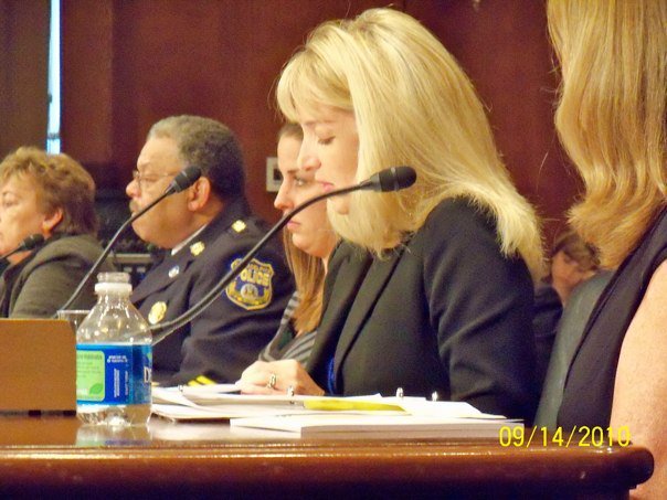 Testifying before the US Senate in Washington, DC September 2010