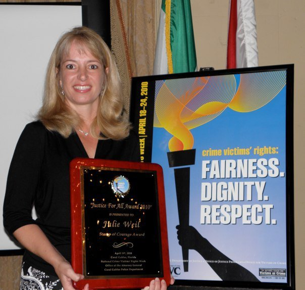Justice for All Award for Community Trainings across Florida in 2010