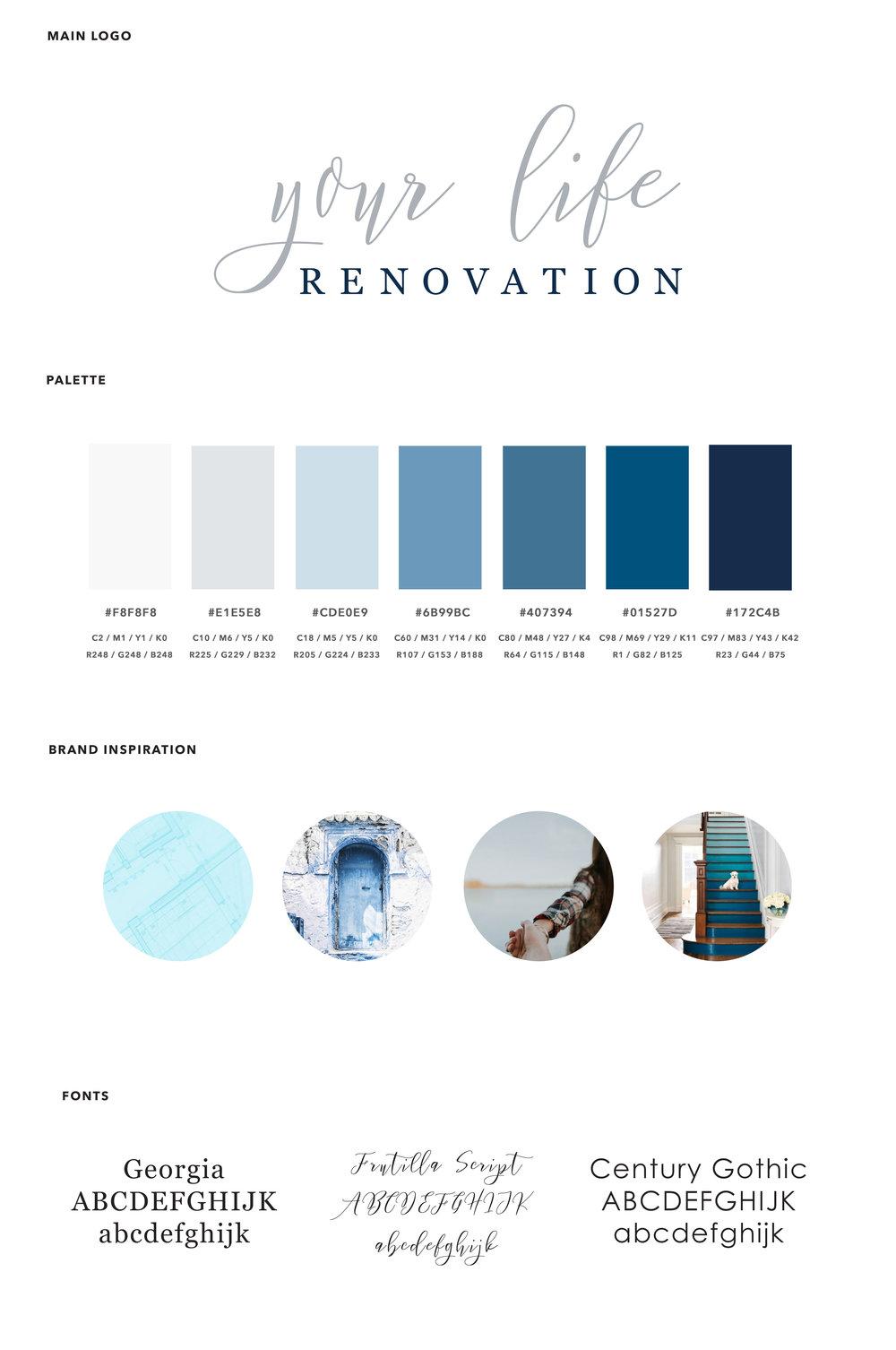 Custom visual brand design and logo design