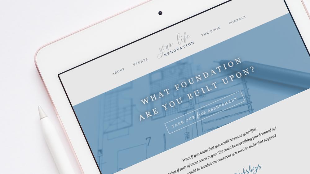 Custom visual brand design and logo design. Responsive web design.