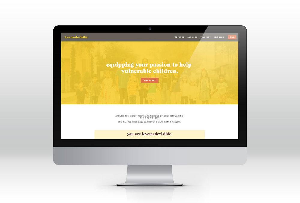 Nonprofit Organization Logo Web Brand Design Responsive Website Winter Garden Orlando