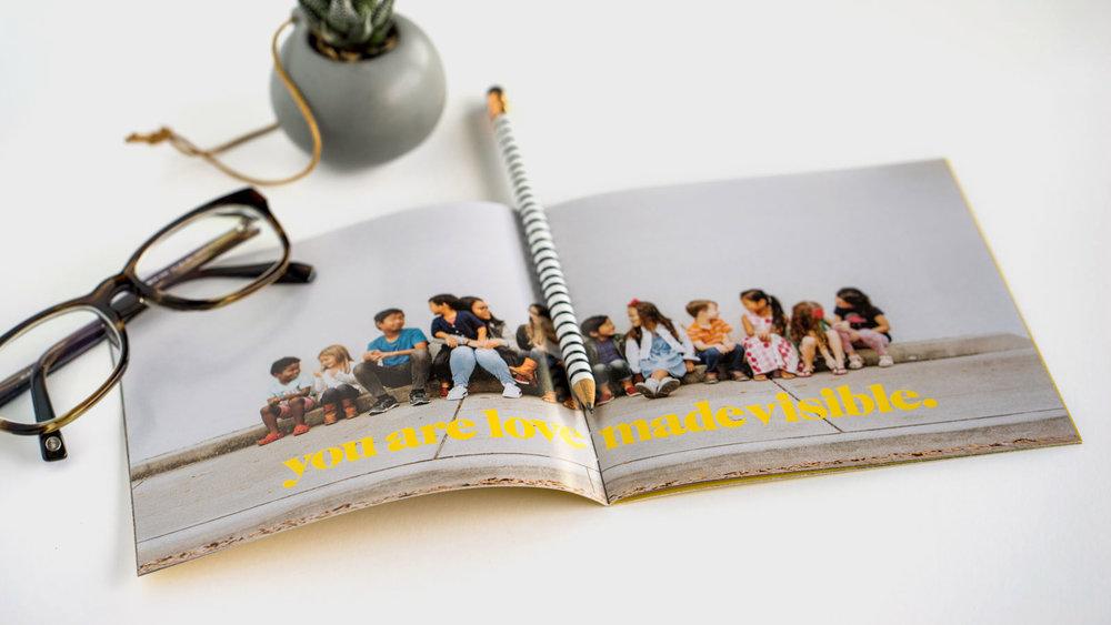 Nonprofit Organization Logo Web Brand Design Print Booklet Sales Pamphlet Winter Garden Orlando