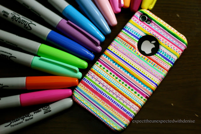 Sharpies to the rescue again! A colorful, hand-drawn phone case would make a great gift for the 'tweens in your life. Younger kids would enjoy decorating a personalized case for Dad, too! For more details see  this post by Denise Heredia.