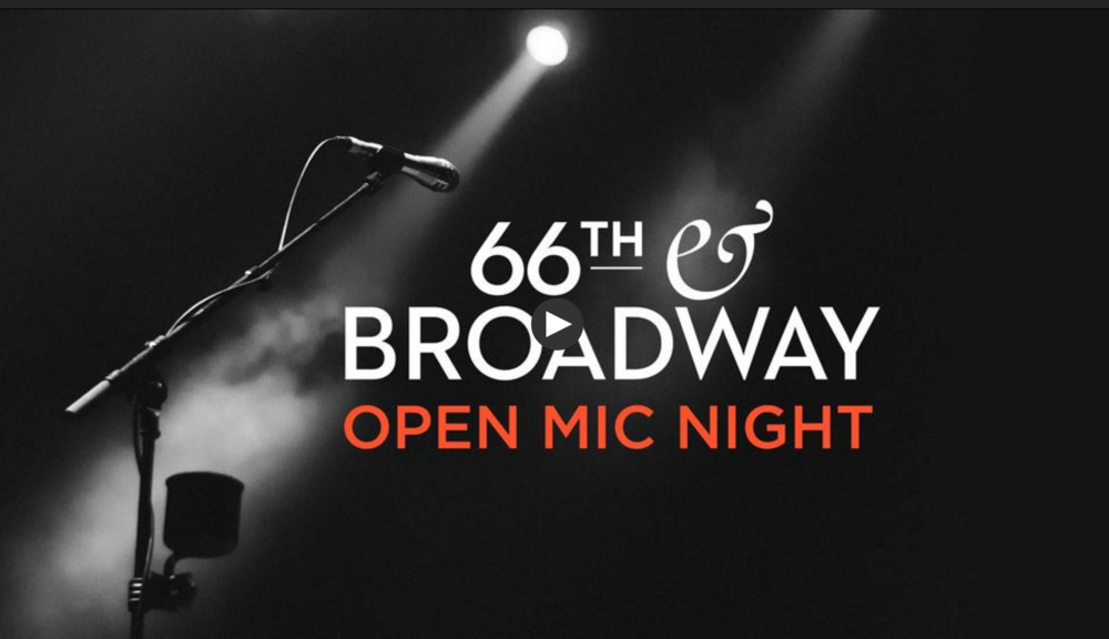 Open Mic Night at Tisch WNET Studios, 66th and Broadway at Lincoln Center (Michele at 40:30)