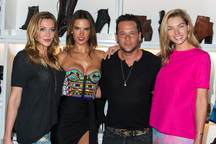 Katie Cassidy, Alessandra Ambrosio, Jeremy Penn, Jessica Hart