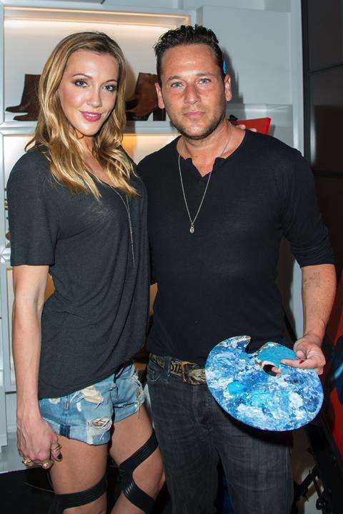 Katie Cassidy & Jeremy Penn