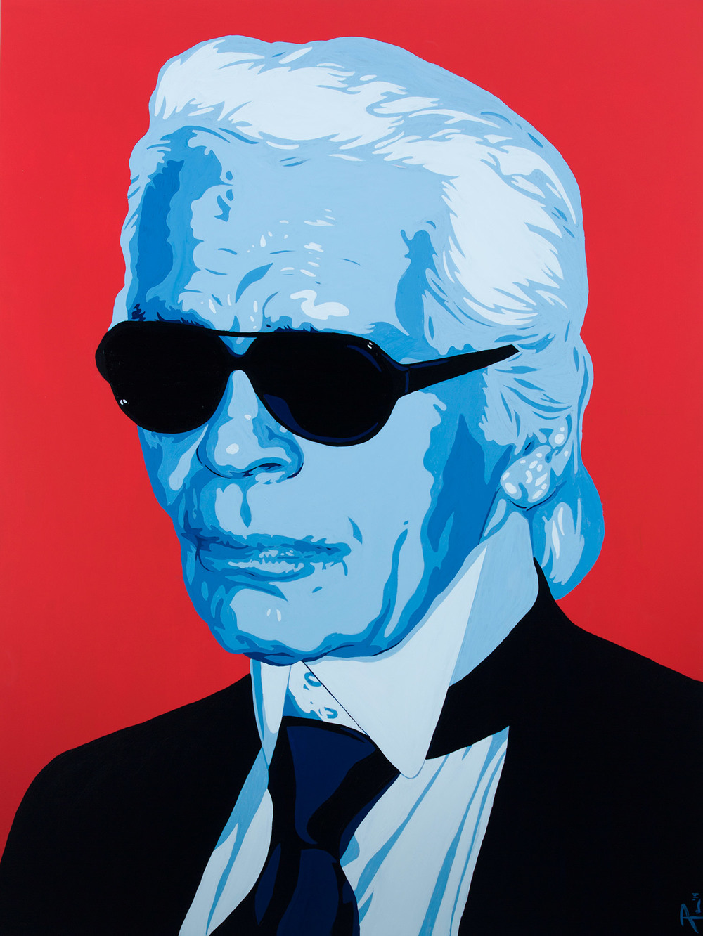"""Uncle Karl"" by Artist Jeremy Penn"