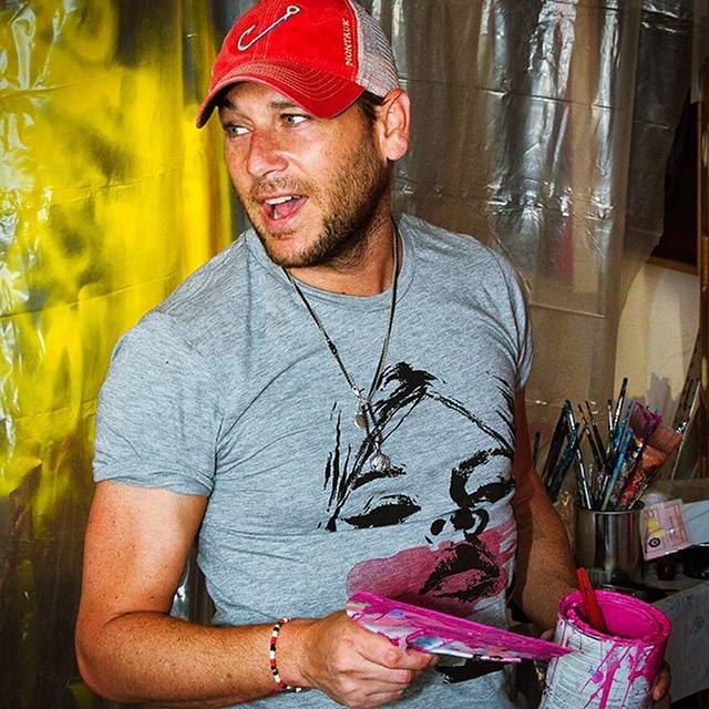 Jeremy Penn Painting Studio