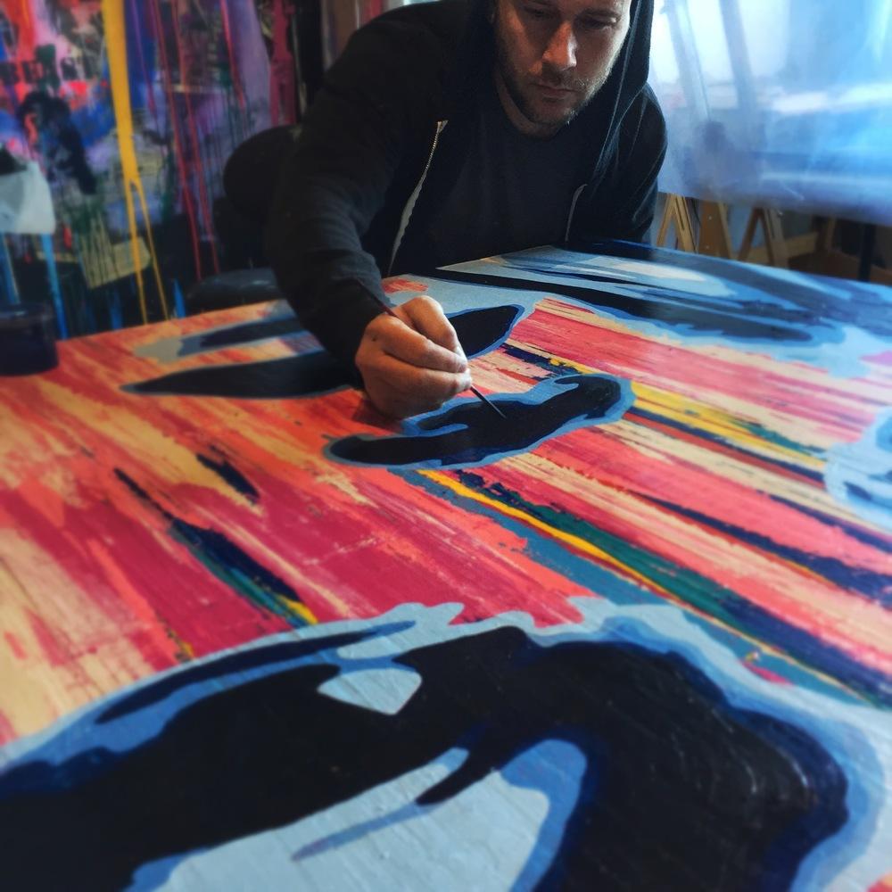 Jeremy Penn Painting