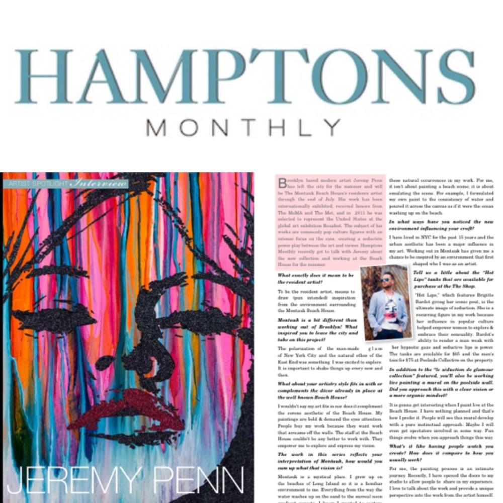 Jeremy Penn Hamptons Artist