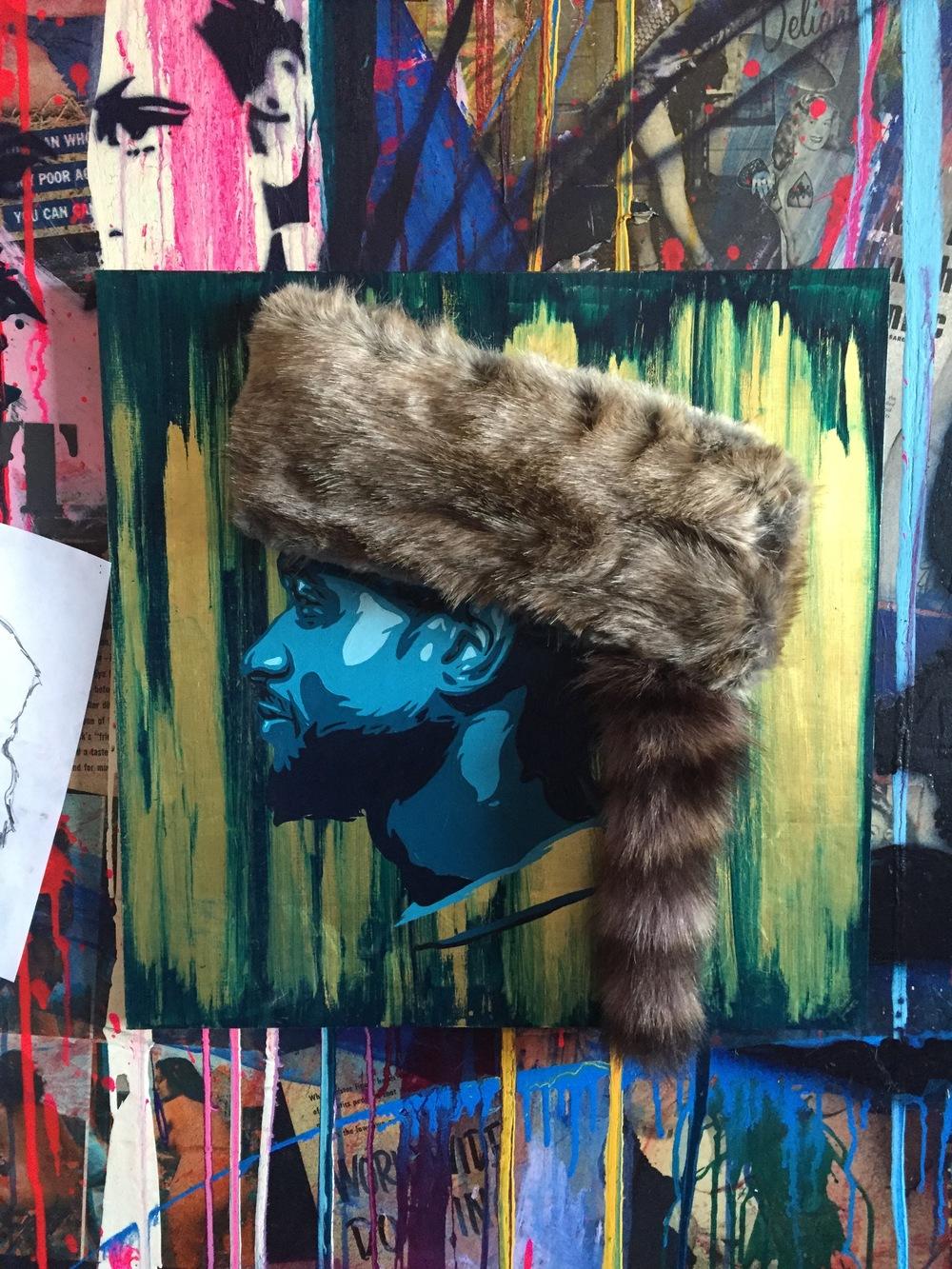 Usher Painting by Jeremy Penn