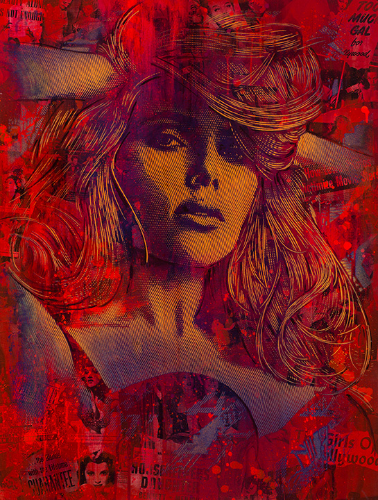 Scarlett  - Jeremy Penn Art