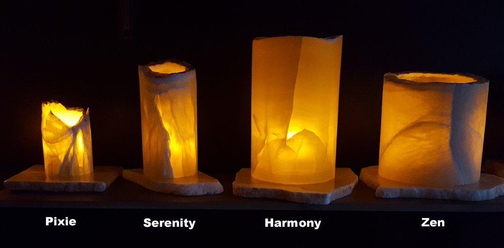 Pixie          Serenity            Harmony               Zen