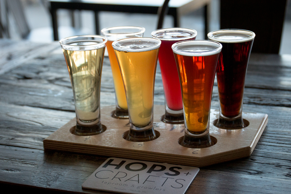 Craft beer taproom and bar nashville tn hops crafts for Best craft beer in nashville