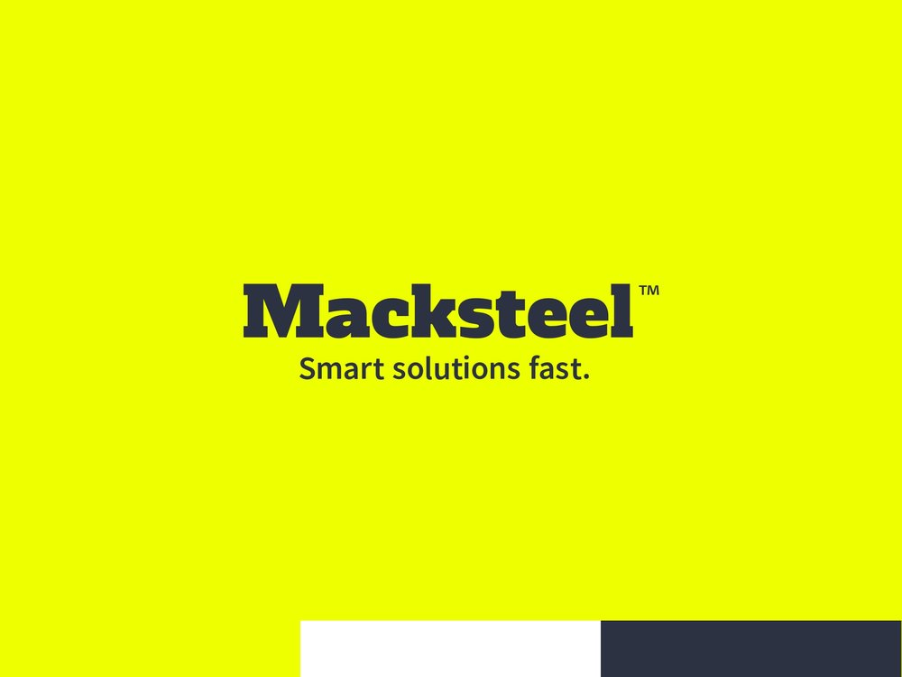Macksteel Warehouse Logo Design