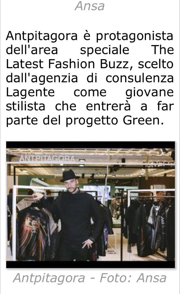 AntPitagora 87 Pitti Immagine Uomo for the Lagente Green Project - Vogue Italia - GQ Italia The Last Fashion Buzz