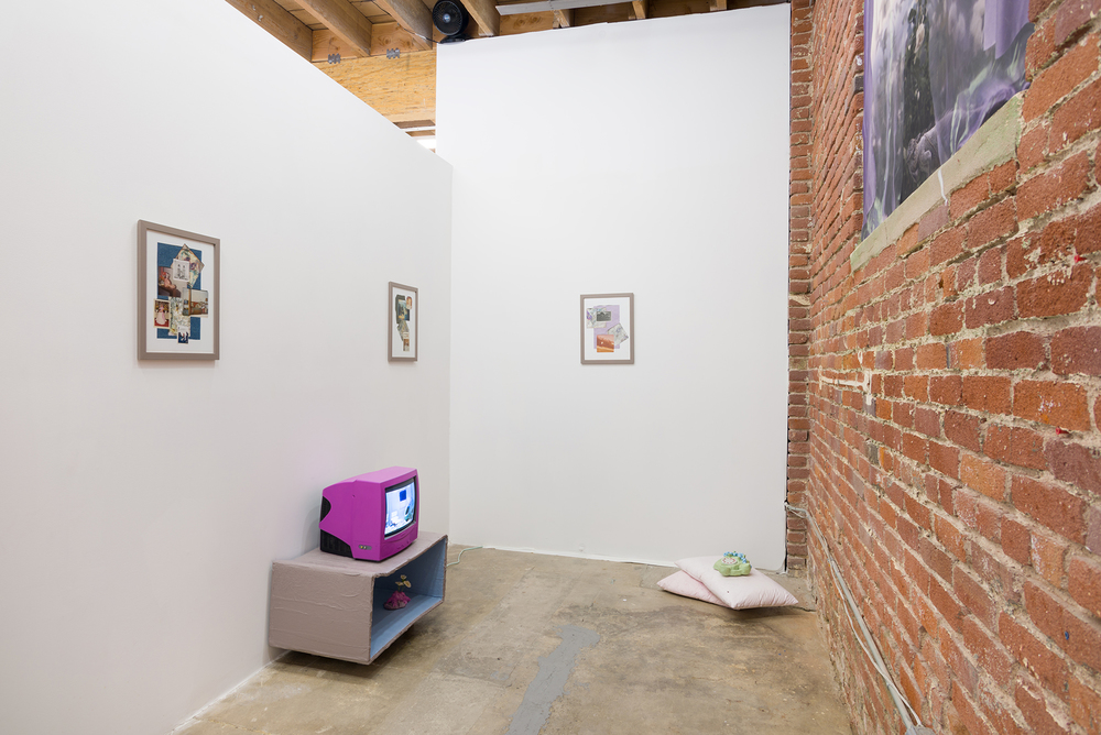 Ashley Campbell, Side Gallery, 2016, installation view. Image courtesy of the artist and Chimento Contemporary. Photo: Ruben Diaz