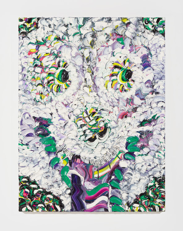 Sally Bruno,  Snowboard Betty ,     2016, oil on canvas, 40 x 30 inches