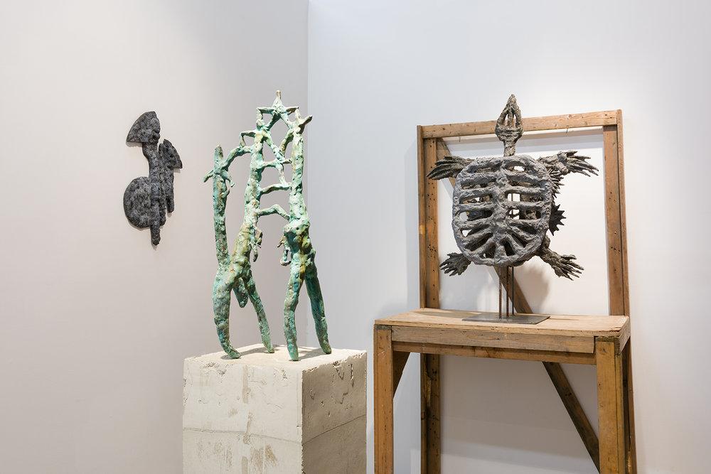Evans Wittenberg, ARCHEOPSYCHIC ,    2016, installation view