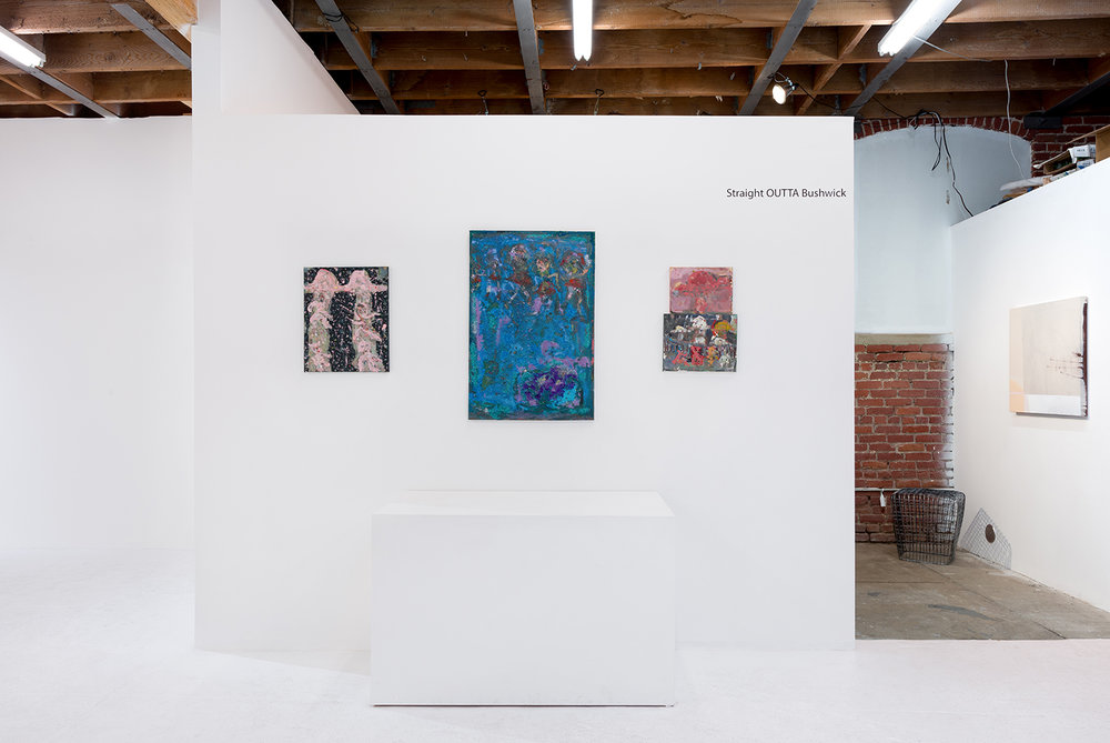 Installation view. Dana James and Daniel John Gadd. Photo: Ruben Diaz