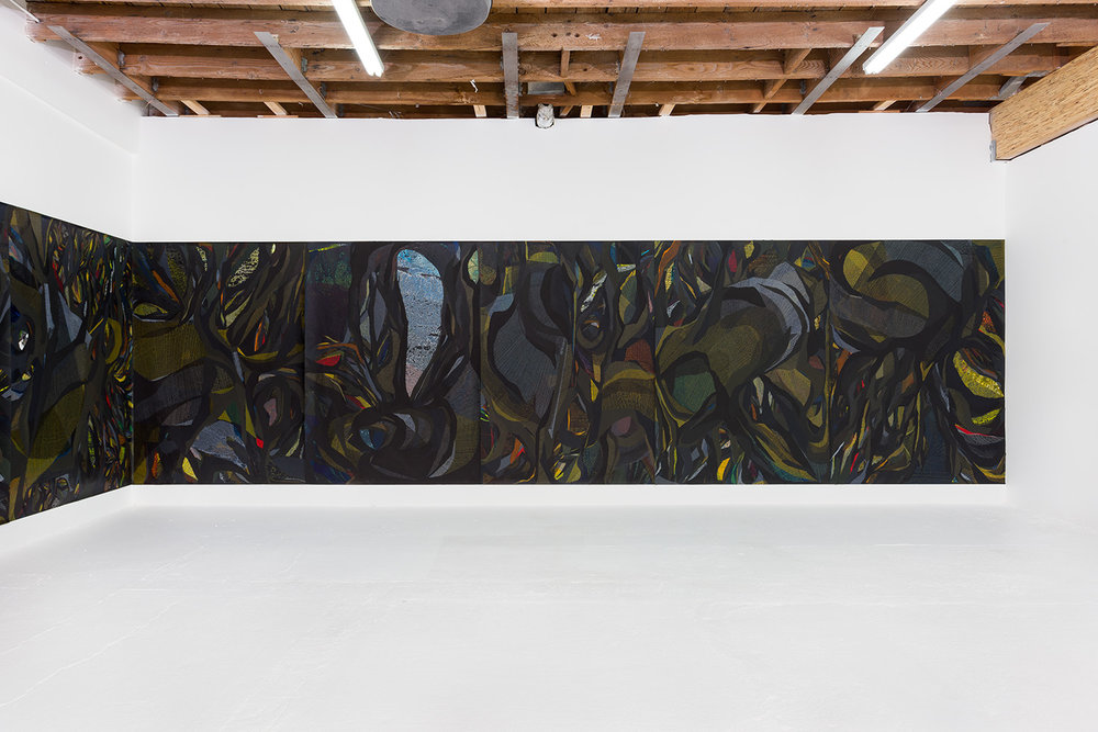 Mutual Entanglement, 2015. Installation view Chimento Contemporary. Photo, Ruben Diaz
