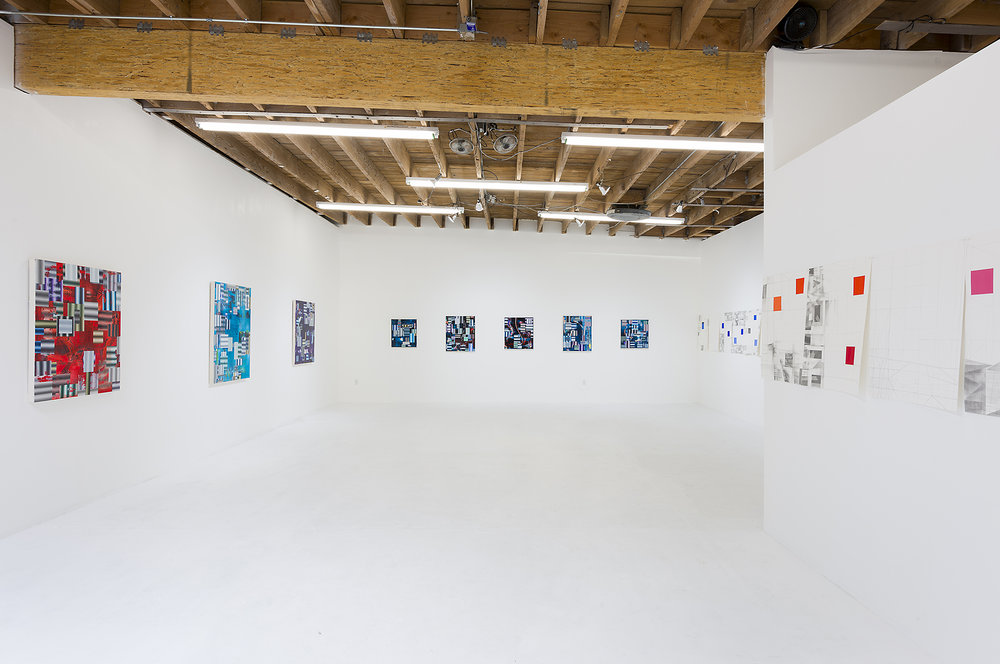 Adam Ross - 'Until The End Of The World', installation view, Chimento Contemporary. Photo: Ruben Diaz