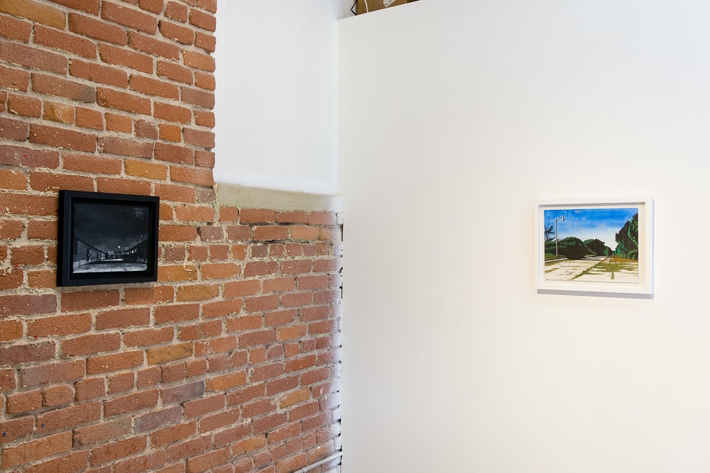 Right Here Right Now , installation view, 2016. Image courtesy of the artist and Chimento Contemporary. Photo: Ruben Diaz.