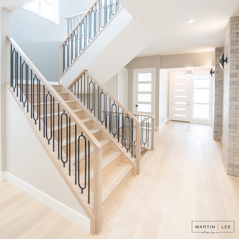 MARTIN LEE - LAKEVIEW PROJECT - FRONT ENTRANCE / STAIRWAY