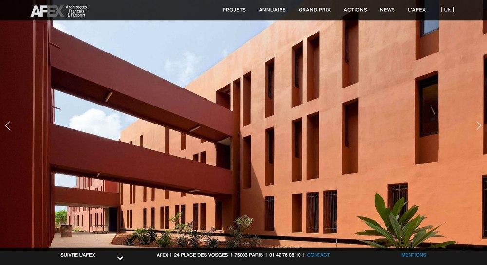 Un nouveau site web pour l'AFEX