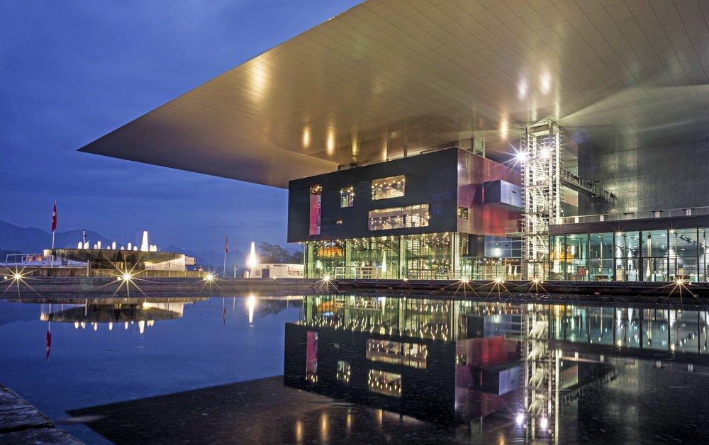 KKL Museum / Lucerne / Suisse / 2000