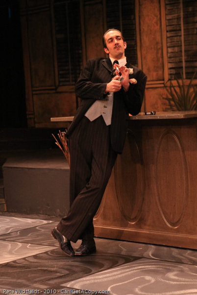 "As Andre Thibault in ""Dirty Rotten Scoundrels"" at the Hale Center Theater Orem"