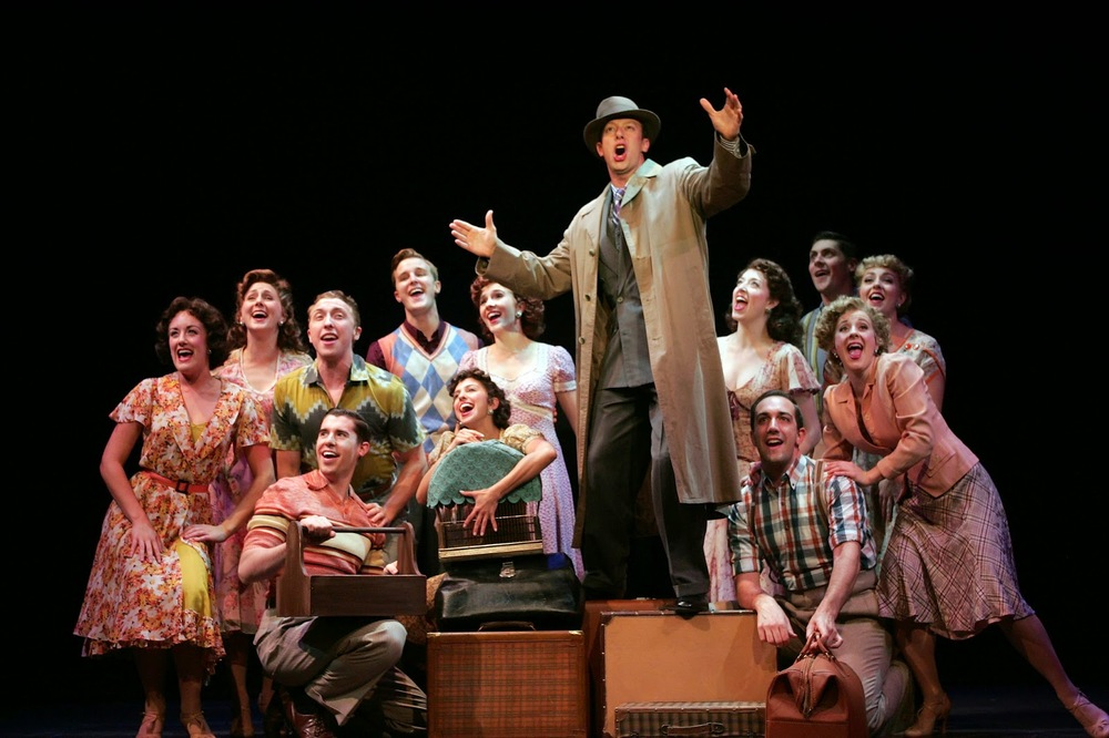 """""""Irving Berlin's Holiday Inn"""" at the Goodspeed Opera House with Tally Sessions and Company"""