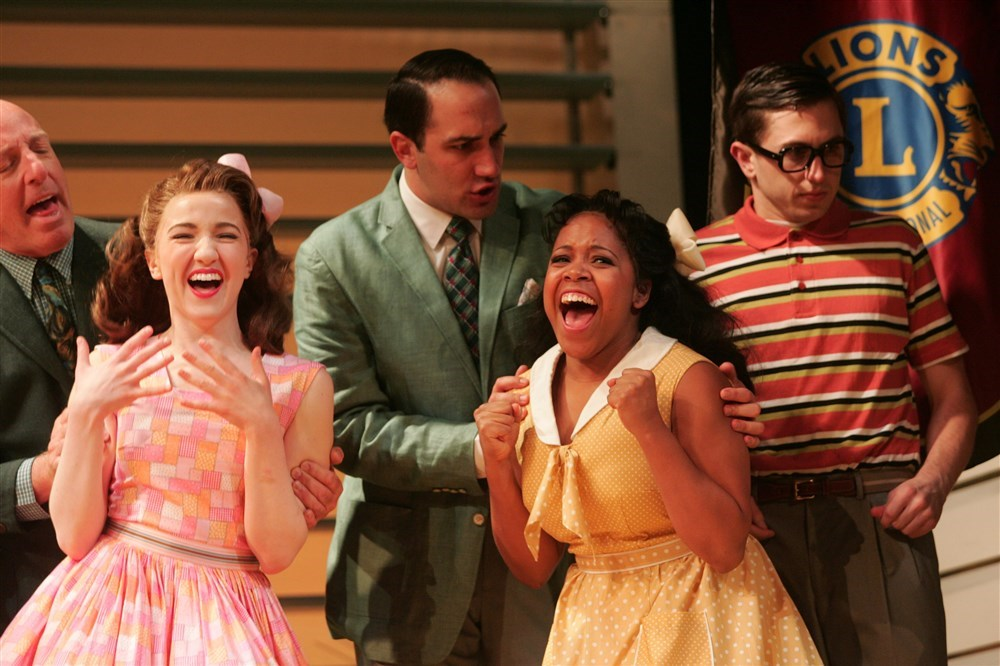 """Bye Bye Birdie"" at the Goodspeed Opera House with Emily Applebaum, Brittany Nicholas, and Jake Swain."