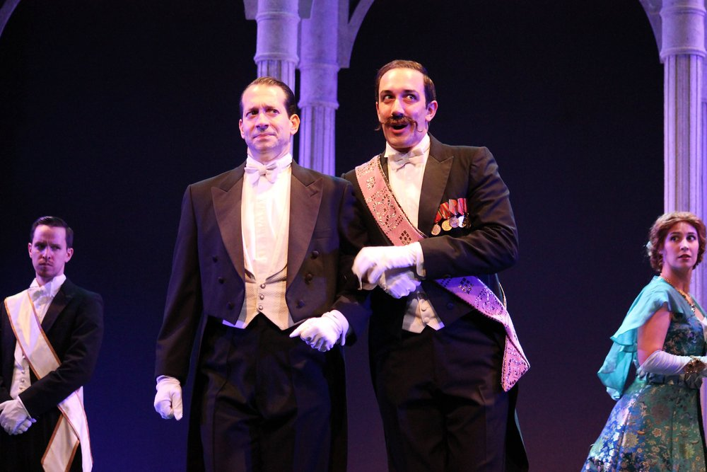 "As Zoltan Karpathy in ""My Fair Lady"" at the Gulfshore Playhouse with Jeffrey Binder and Company"