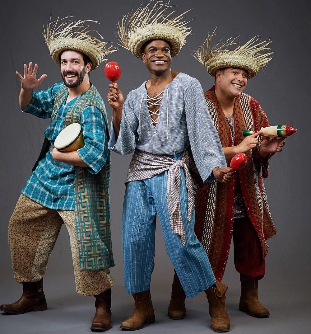 "Reuben in ""Joseph and the Amazing Technicolor Dreamcoat"" at Stages St. Louis with Jason Eno and Paul Aguirre"