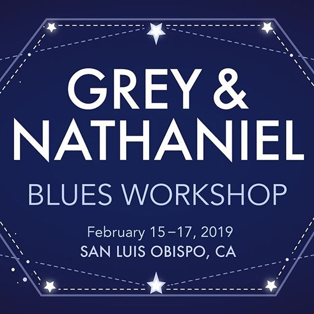 Our blues workshop is less than a month away! Feb 15-17. Sign up on our Facebook page Drop Dead Blues!