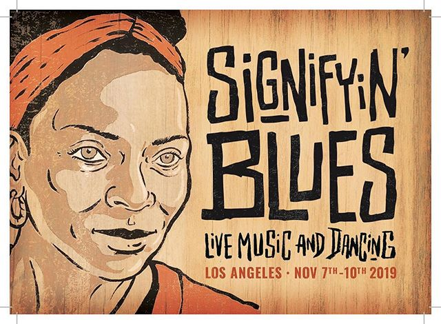 We love our friends over at @signifyinblues - go check out their Instagram and follow them to see their lineup announcements as they come out this month! #bluesdance #signifyinblues #labluesdance
