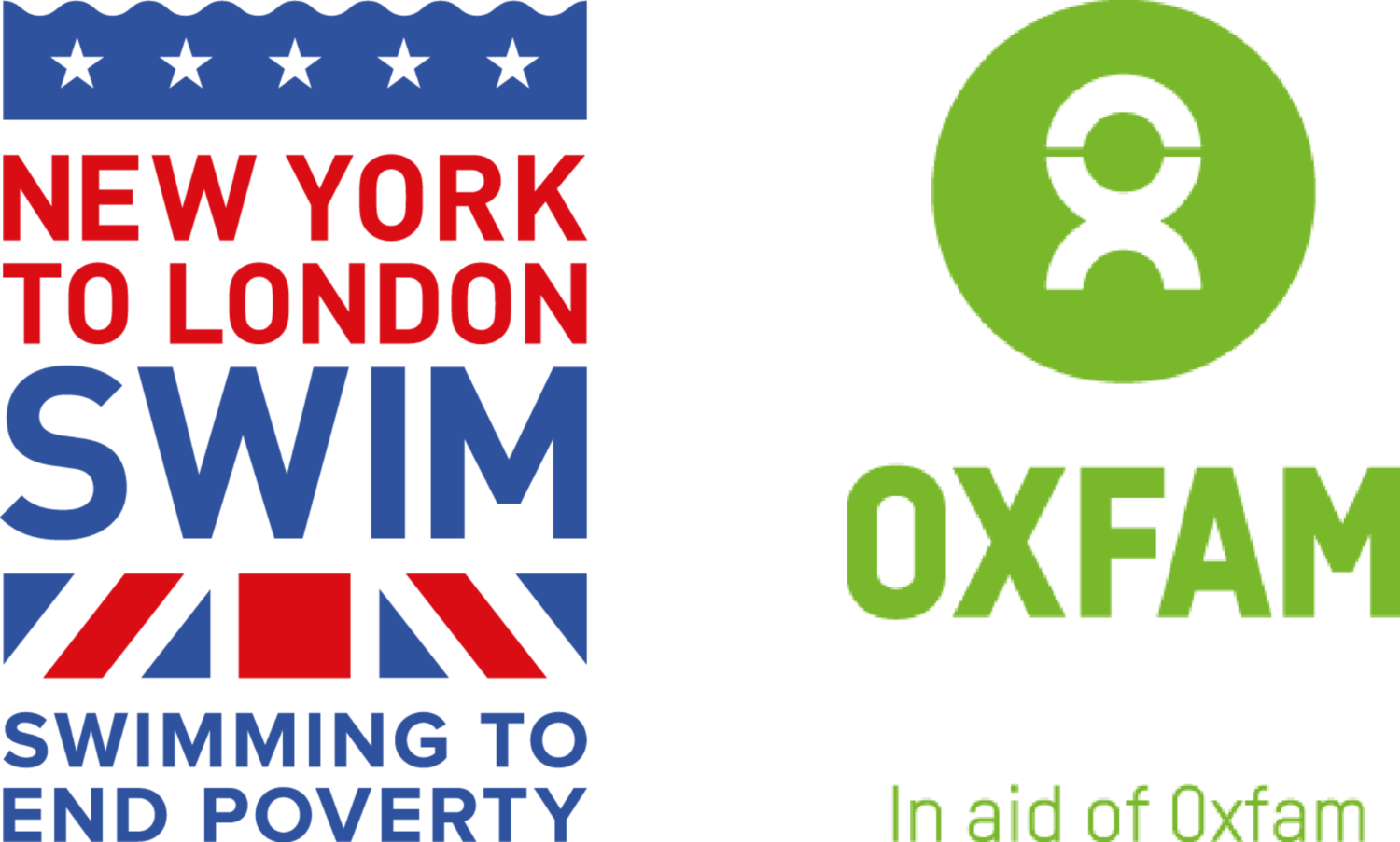 New York to London Swim in Aid of Oxfam