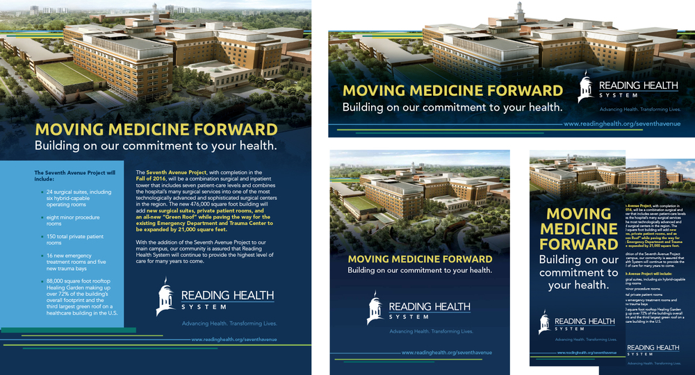 Reading Health System: Moving Medicine Forward Campaign