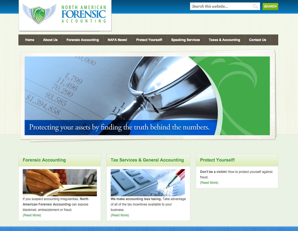 North American Forensic Accounting Website