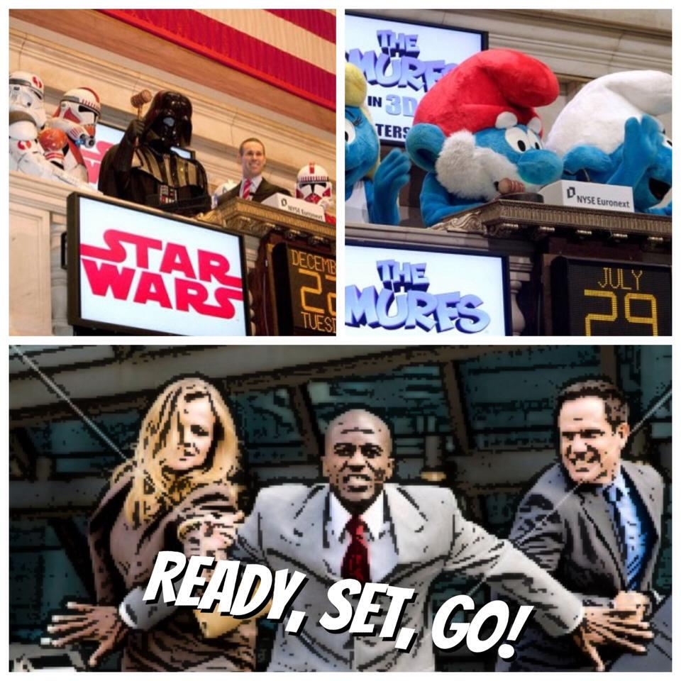 Official 2013-2014 Hamilton High School JIL Individual Stock Portfolio Competition starts today! Go ahead and ring that opening bell for us  Darthvader  and Smurfs!