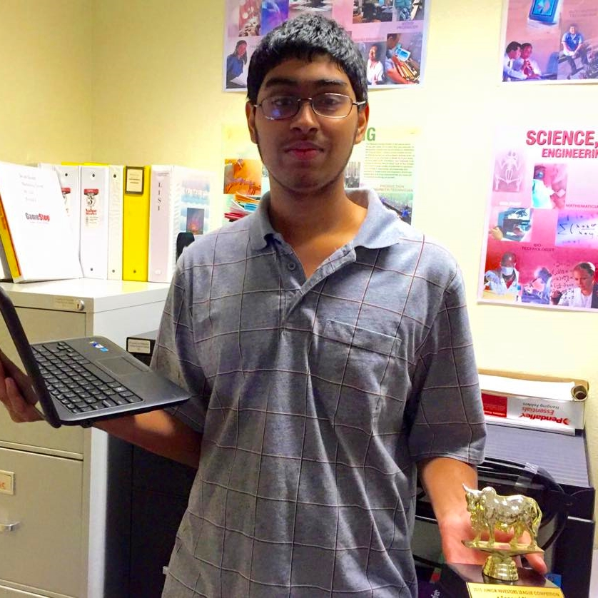 Second Place: Vineet Mahesh (+66.6%)