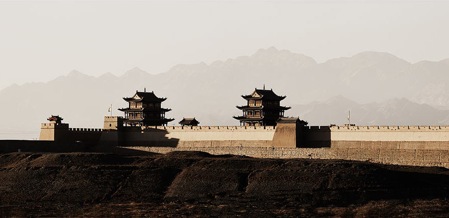 Jiayuguan Fort - End of the Great Wall